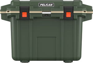 50 quart Pelican Elite Cooler with lifetime warranty and made in America.