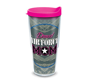 Proud Air Force Mom 24oz Tervis - CEG & Supply LLC