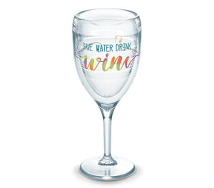 Save Water Drink Wine Tervis Wine Glass - CEG & Supply LLC