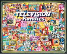 TV Families - 1000 Piece Puzzle - White Mountain Puzzles - CEG & Supply LLC