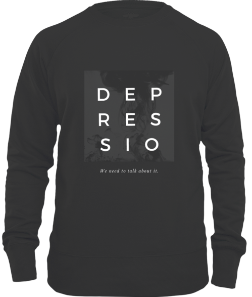 Depressio - We Need to Talk About It Sweatshirt
