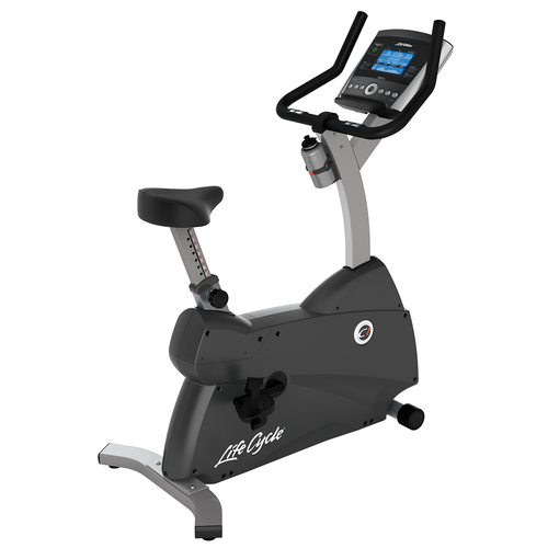 Life Fitness C1 Upright Bike With Go Console