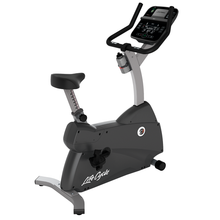 Load image into Gallery viewer, Life Fitness C1 Upright Bike With Track Connect Console