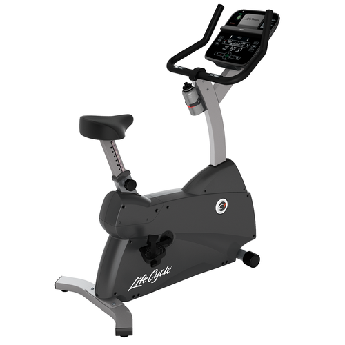 Life Fitness C1 Upright Bike With Track Connect Console