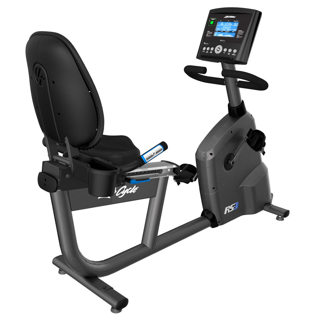 Life Fitness RS3 Recumbent Bike With Go Console (Coming Soon, Join Our Waiting List)