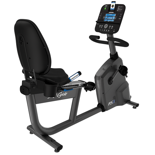 Life Fitness RS3 Recumbent Bike With Track Connect Console