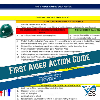 DOC0007 Action Guide-First Aider Template