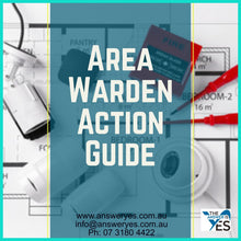 Load image into Gallery viewer, DOC0005_Action Guide-Area Warden Template
