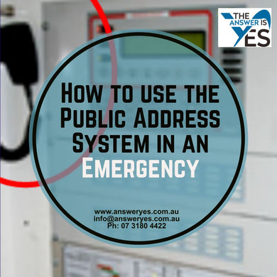 PR0048 How to Use the Public Address System (PA)