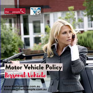 POL0022_Motor Vehicle Policy - Personal Vehicle Template