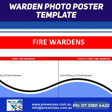 DOC0009_Warden Photo Poster Template