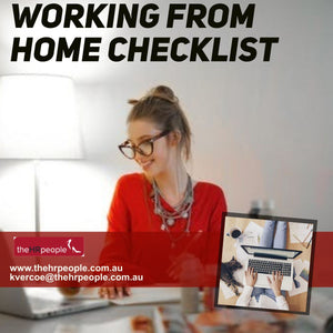 CHK0017 Working from Home Checklist