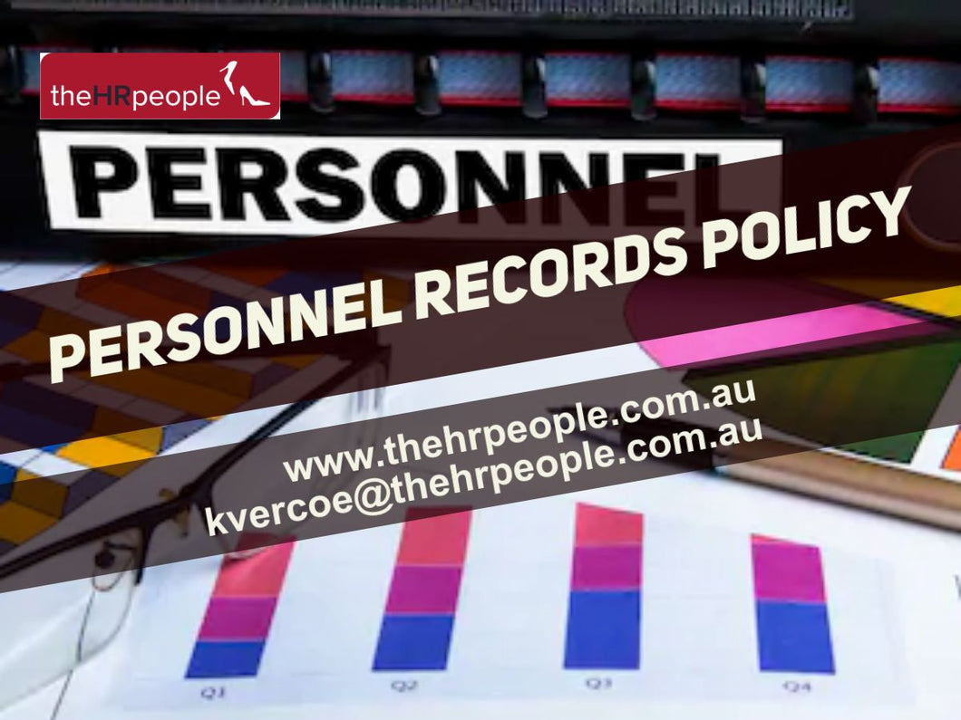 POL139_Personnel Records Policy