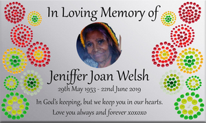 Cultural Memorial Plaques-CUSTOM