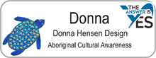 Load image into Gallery viewer, Aboriginal Name Badges-Design 5 - Turtle