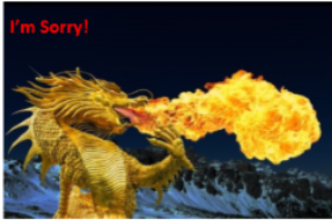 "Positive Words ""I'm Sorry"" Packs-Pack 4-(Dragons) Downloadable"