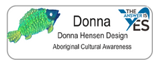 Load image into Gallery viewer, Aboriginal Name Badges-Design 1-Fish