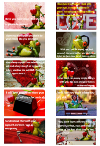 "Positive Words ""I Love You"" Packs-Pack 3 (Frogs) Downloadable"