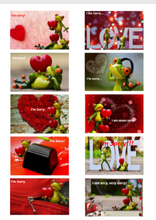 "Load image into Gallery viewer, Positive Words ""I'm Sorry"" Packs-Pack 1-(Frogs) Downloadable"