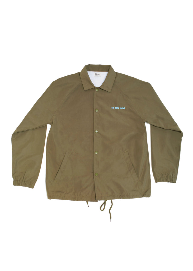 SAVE YOURSELF JACKET (OLIVE)