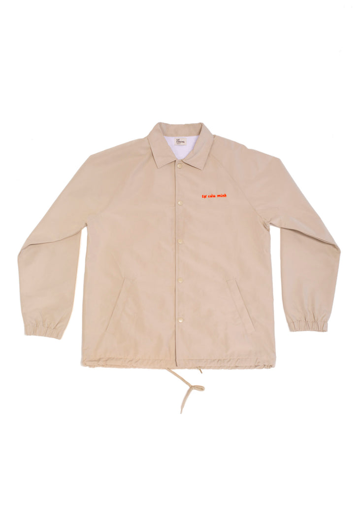 SAVE YOURSELF JACKET (KHAKI)