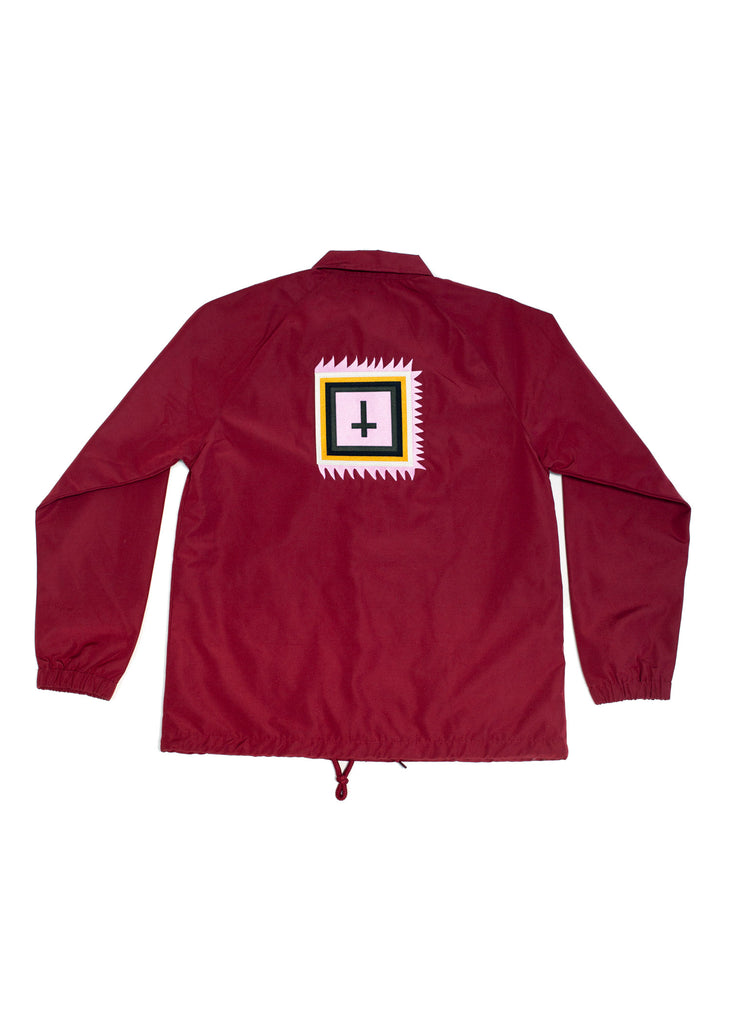 SAVE YOURSELF JACKET (BURGUNDY)