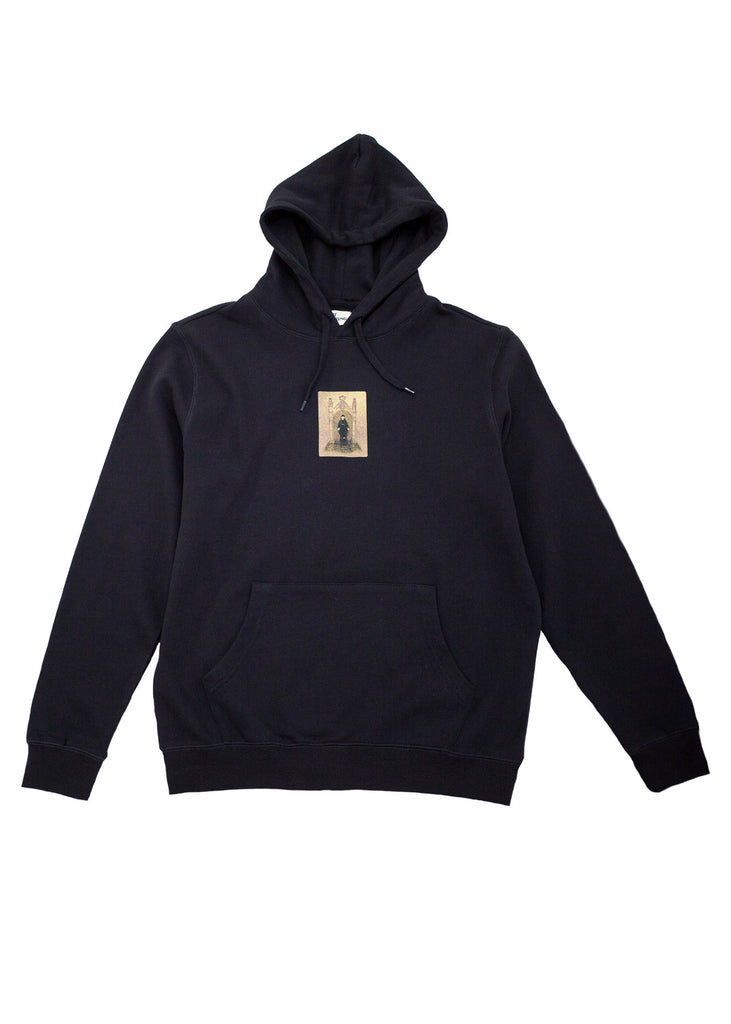 DOME HOODED SWEATSHIRT (BLACK)