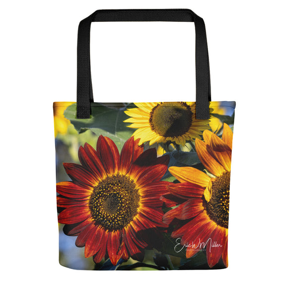 Beautiful Sunflower Variety Tote bag