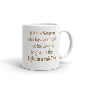 The Veteran and Right to a Fair Trial Mug