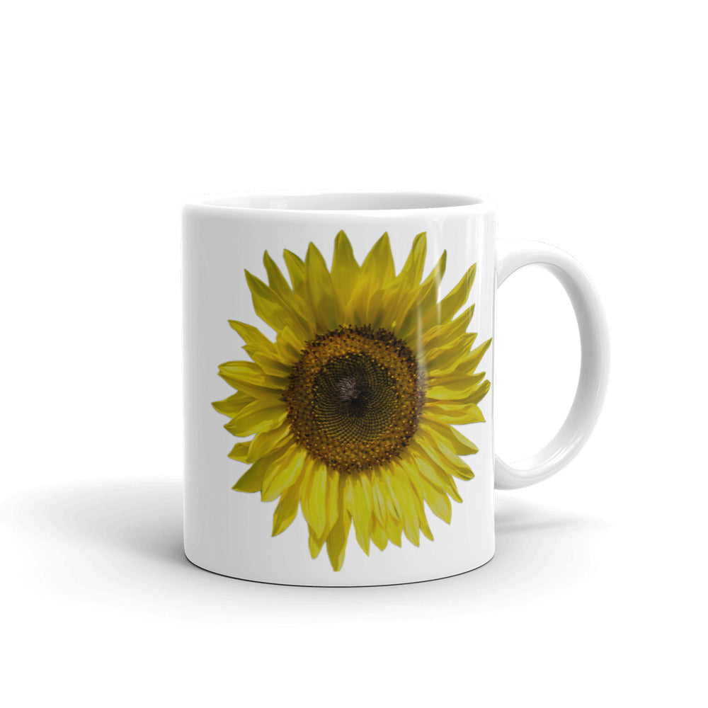 Good Morning Sunflower Coffee Mug