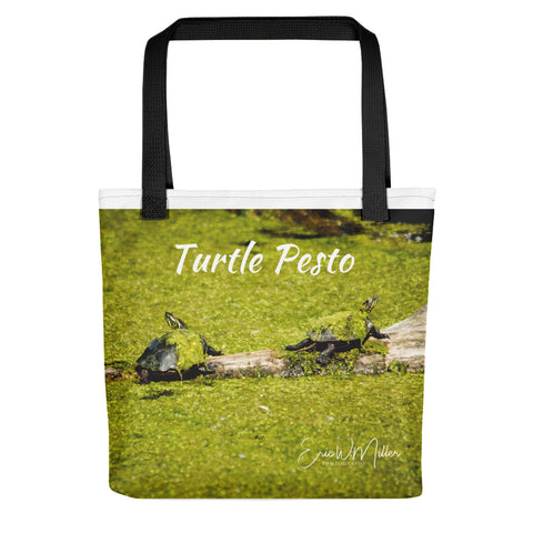 Tote bag - Turtle Pesto