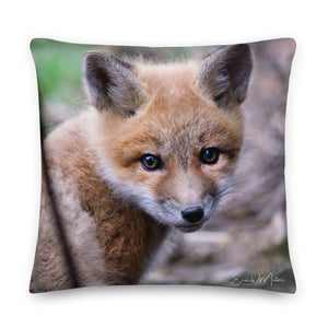 SouthPaw Fox Cub Premium Pillow