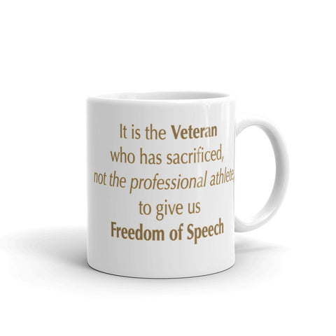 The Veteran - Freedom of Speech Mug