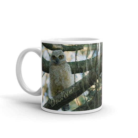 The Owl Family coffee mug