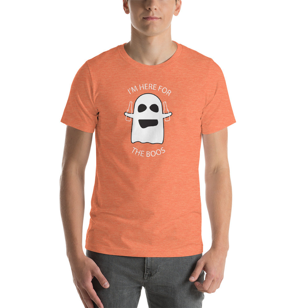 Funny T Shirt I'm here for the Boos - Fun Halloween shirt
