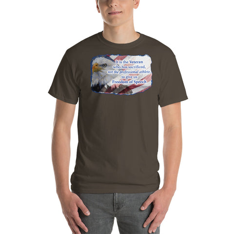 The Veteran - Freedom of Speech T-shirt
