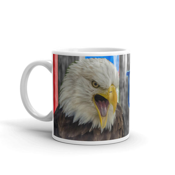 USA American Bald Eagle Coffee Mug