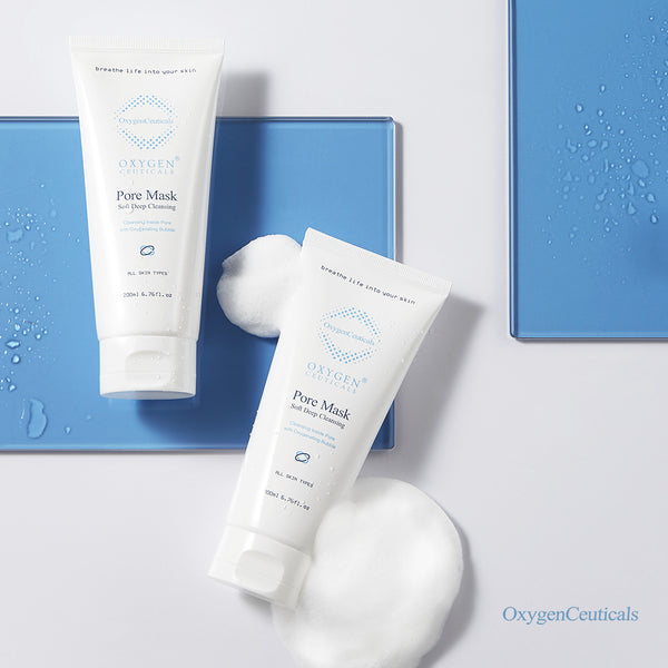 OxygenCeuticals Pore Cleansing Mask I Pore Mask Bubble Deep Cleanser For Face