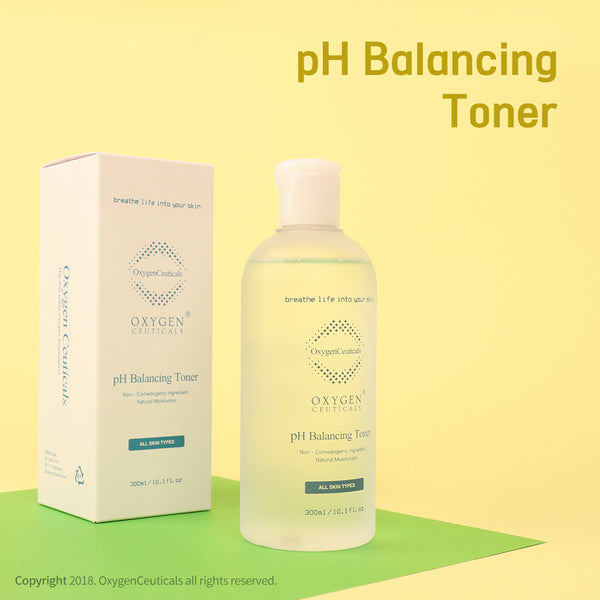 OxygenCeuticals Skin Balancing Facial Toner | pH Balancing Toner For Face | A skin purifying and softening refiner, for all  skin types, to replenish optimal moisture.