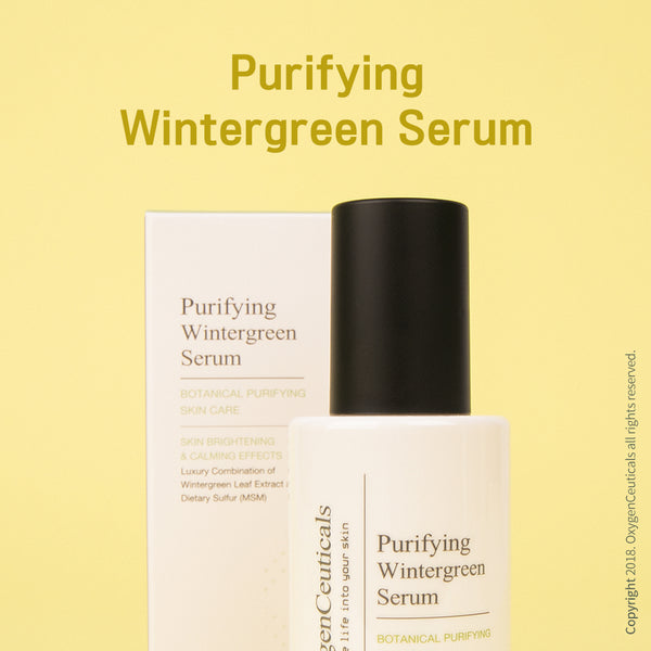 OxygenCeuticals Purifying Wintergreen Cream For Face, Acne control serum, Spot treat acne serum, Blemish care serum
