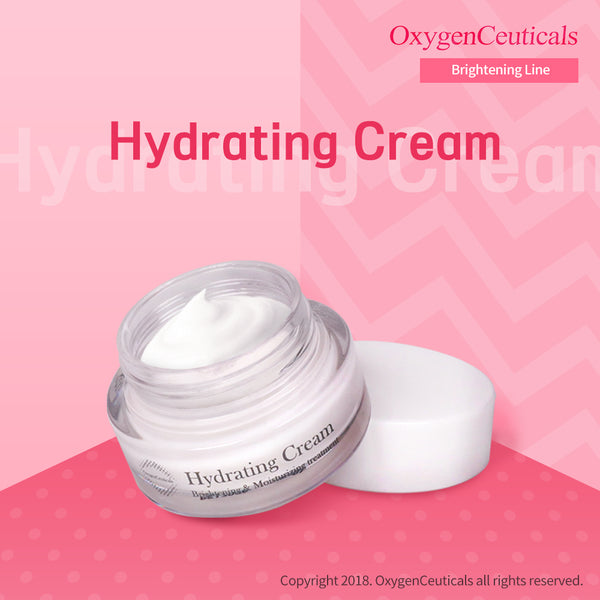 OxygenCeuticals Hydrating Cream | Facial Moisturizer I A concentrated Niacinamide and Betaine providing your skin with a continuous burst of intense hydration that lasts up to 24 hours.