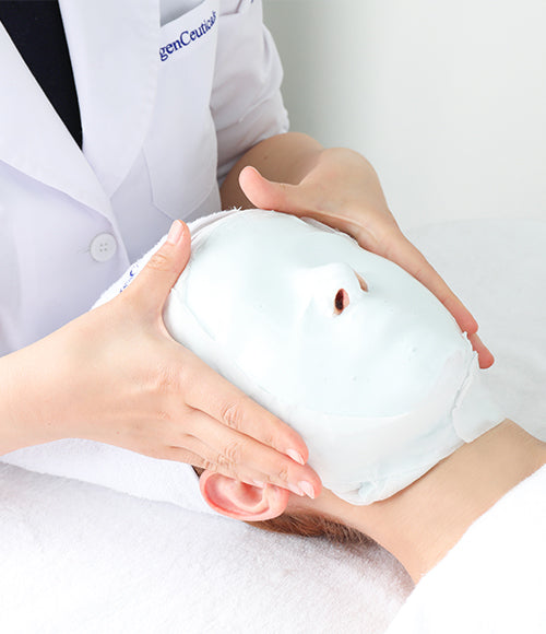 Oxygen CT Modeling Mask, For Cooling Treatment