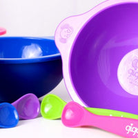It's Dinner Time Silicone Bowl and Spoon Set
