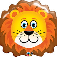 Lion Head Foil Balloon