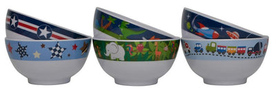 Boys Melamine Bowl Set