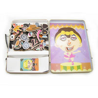 Funny Faces Magnetic Play Tin