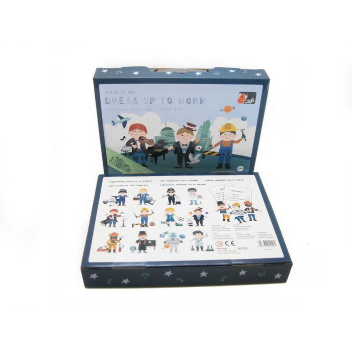 Dress Up Magnetic Play Tin