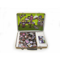 Robot Factory Magnetic Play Tin