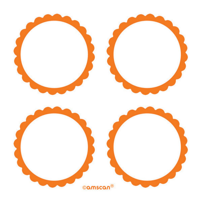 Orange Labels