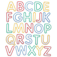 Write and Wipe Upper Case Letters